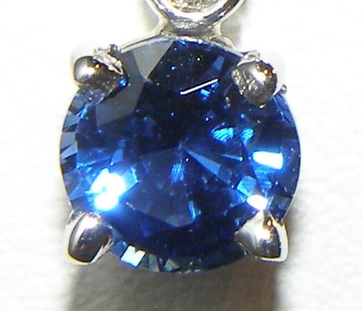 Classic Beauty Ceylon Sapphire Diamond Dangles 18KWG 1.75 carats