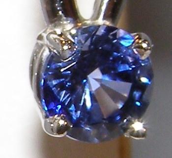 Elegant Ceylon Sapphire Diamond Dangles 14KWG 1.46 ctw