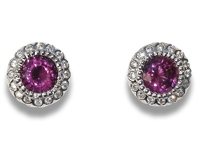 2 Ctw Diamond Studs