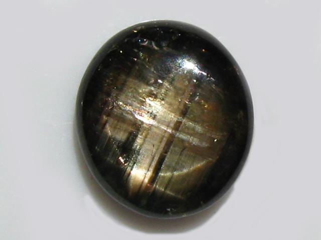 Thai Black  Star Sapphire - 15.48Cts - 17.7x13.1mm