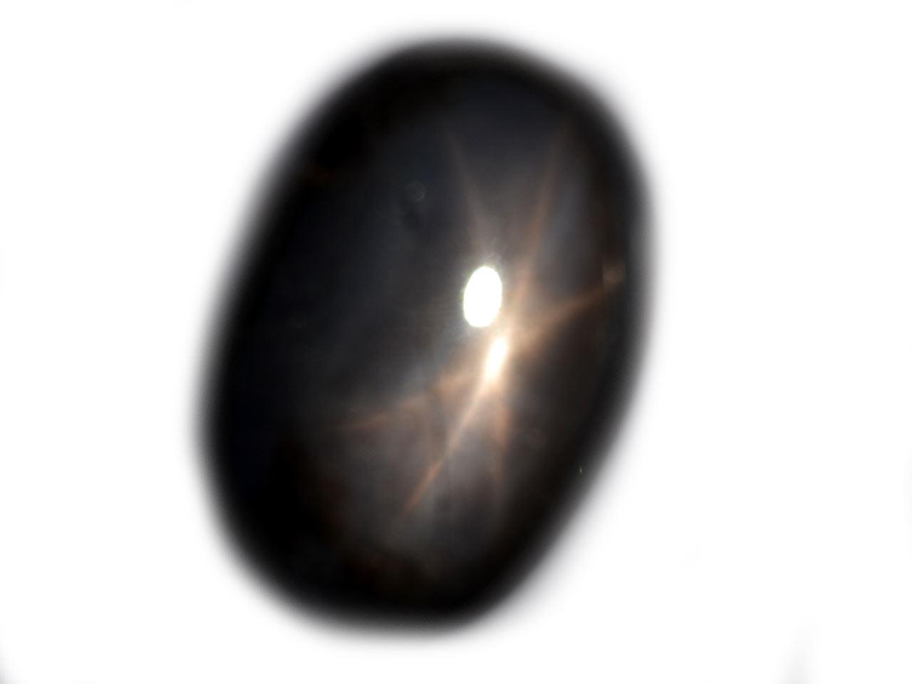 Thai Black Star Sapphire - 46.5 cts - 28.2x19.1x7.6mm