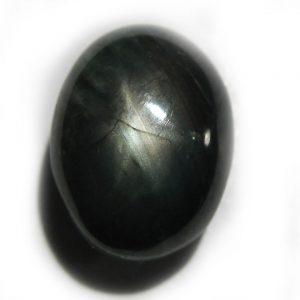 Thai Black Star Sapphire 10.1x7.6x5.8mm 4.95 carats