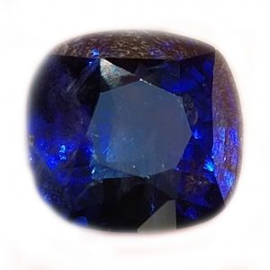 GGTL Certified Sri Lanka Blue Cushion Cut Sappire 5.71 Carats 9.9x9.3x6.5mm