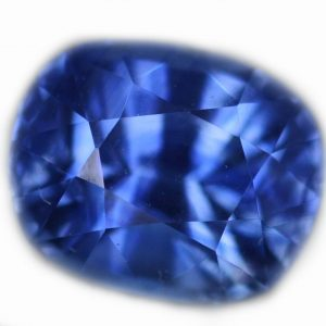 Ceylon Blue Sapphire Cushion Cut 1.53 Cts - 6.8x5.5x4.7mm