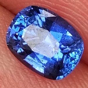 Sri Lanka Blue Cushion Cut Sapphire 0.98 carats 6.4x5x3.4mm