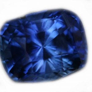 Ceylon Cushion Cut Blue Sapphire 1.61 Cts 7.1x5.7x4.9mm