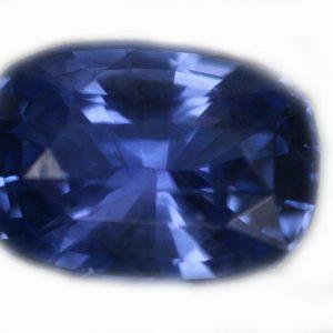 Ceylon Blue Cushion Cut Sapphire - 1.23 Cts - 7x4.9x4mm