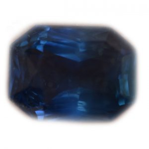 CGL Certified Unheated Blue Emerald Cut Sapphire 2.16 C8.22x6.17x4.32mm