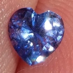 Heart Cut Royal Blue Sri Lanka Sapphire 0.60 Carats