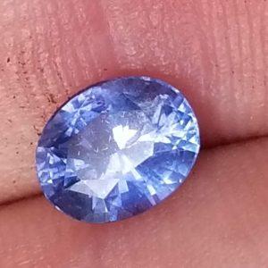 Sri Lanka Blue Oval Cut Sapphire 1.14 carat 6.7x5.5x3.7mm
