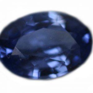 Ceylon Blue Oval Cut Sapphire 0.85 Carats 7x5x3mm