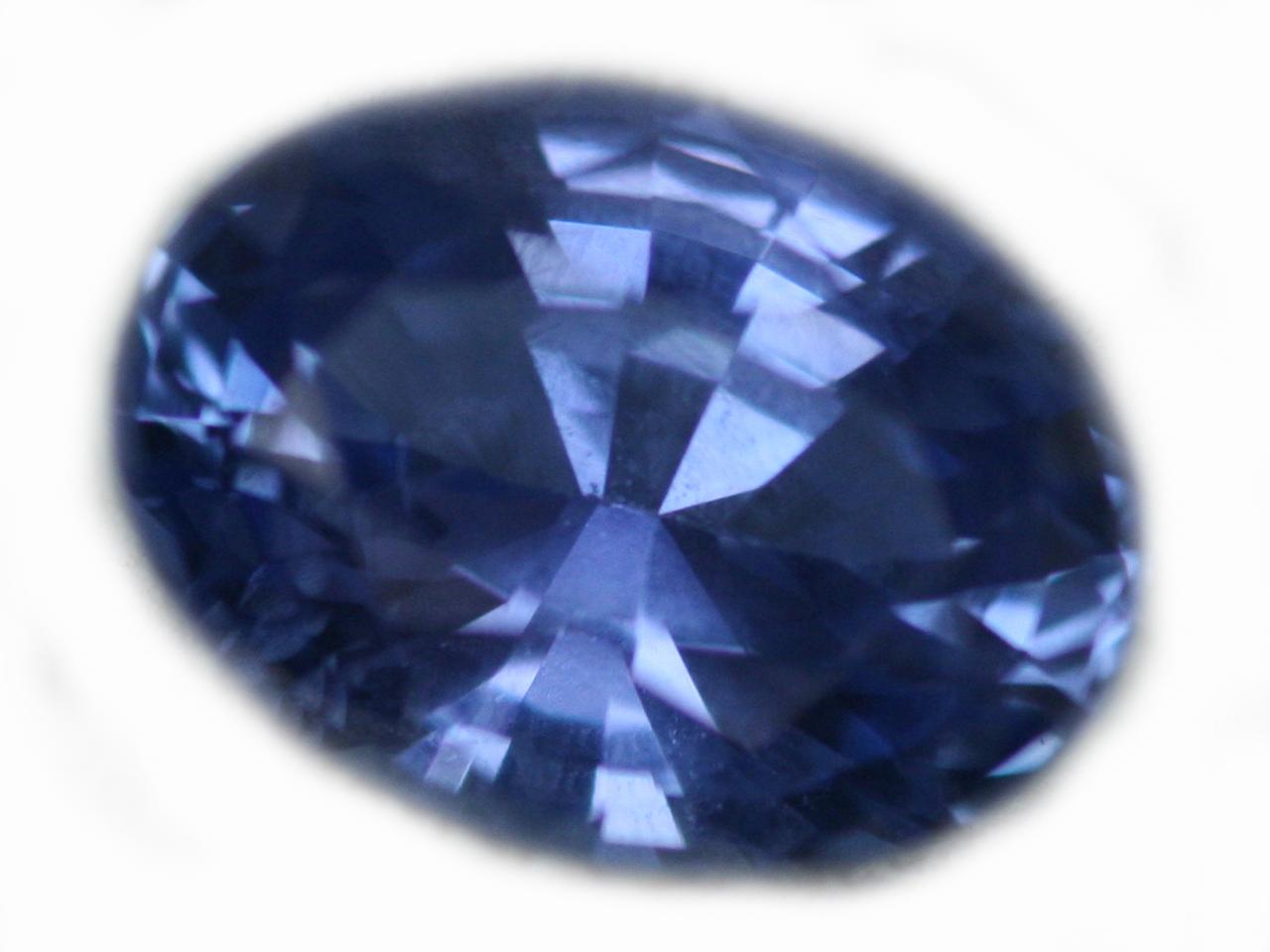 Ceylon Blue Oval Cut Sapphire - 0.99 Cts - 7x5x3.5mm