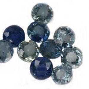 Ceylon Blue Round Sapphire Rounds 5.14 ctw 4.3 - 4.7mm special