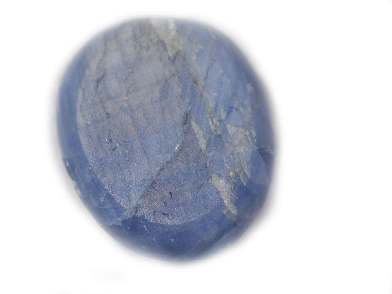 Burma Blue Star Sapphire - 12.12 Cts - 14.4x11.7x6.4mm