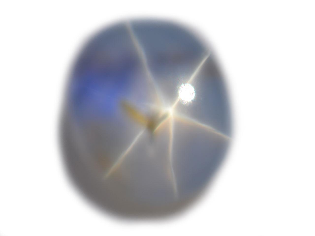 Burma Blue Star Sapphire - 2.89 cts - 9.0x7.6x3.9mm