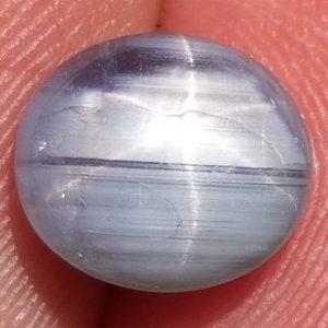 Burma Blue Star Sapphire 3.95 Carats 9.4x8.2x4.4mm