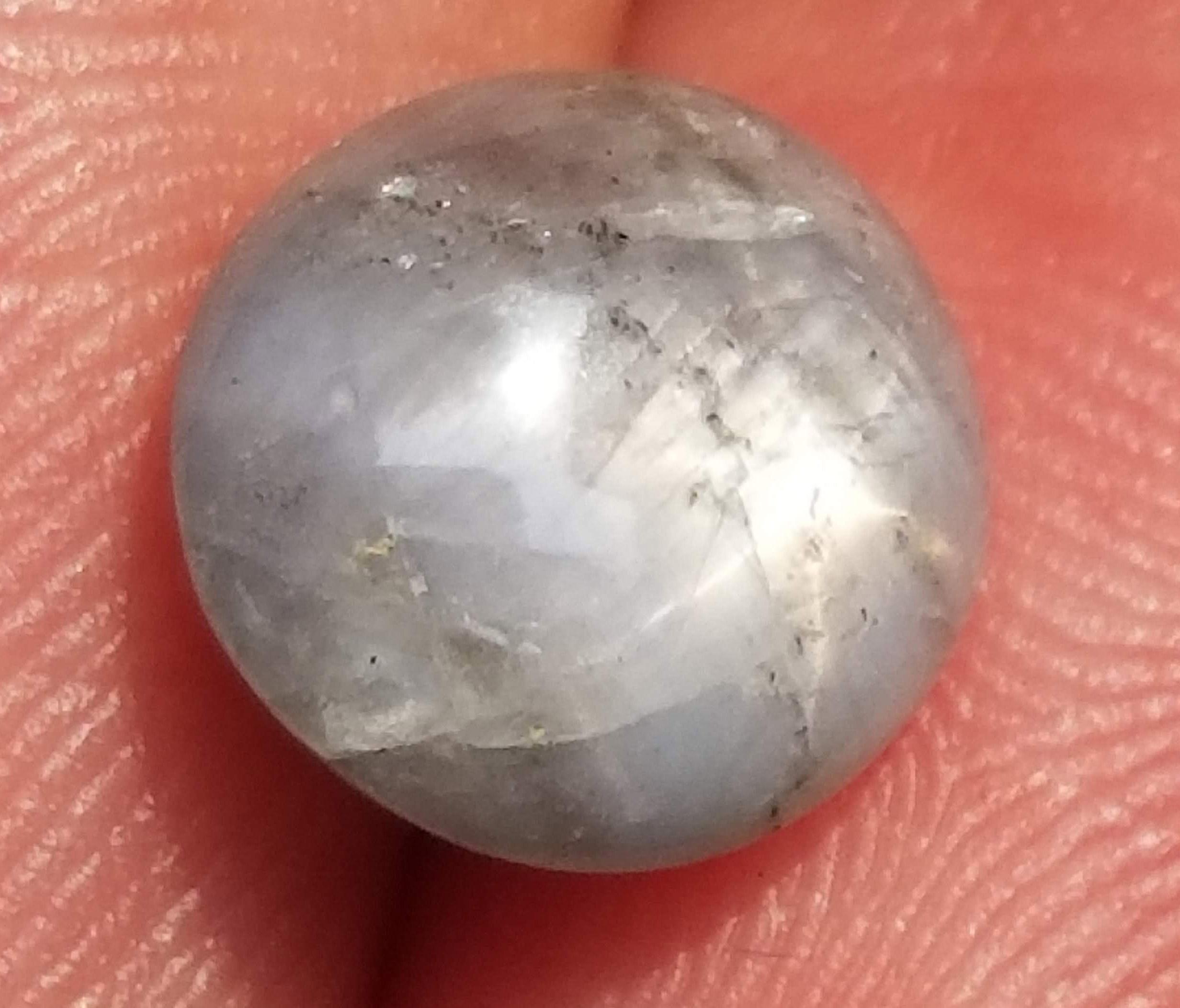 Burma Blue Star Sapphire 4.53 carats 9.9x9.5x4.4mm