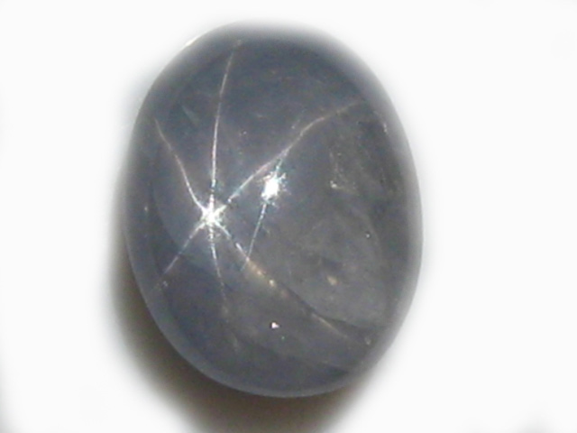Burma Blue Star Sapphire - 4.57carats 9.9x9.7x5.1mm