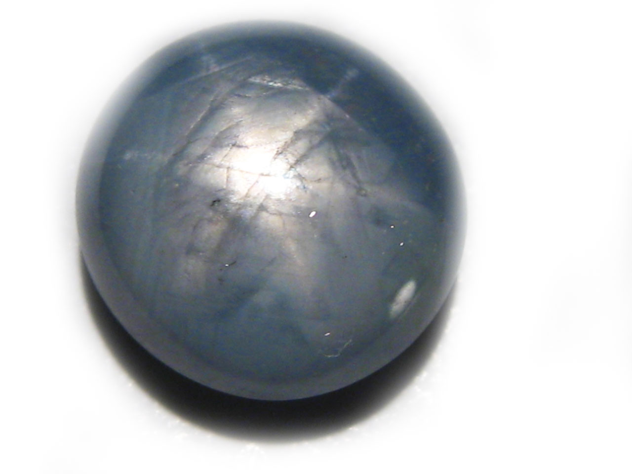 Burma Blue Star Sapphire 5.67 carats 9.5x9.1x5.9mm