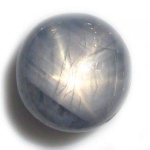 Burma Blue Star Sapphire - 6.06Cts - 9.8x9.5x5.6mm
