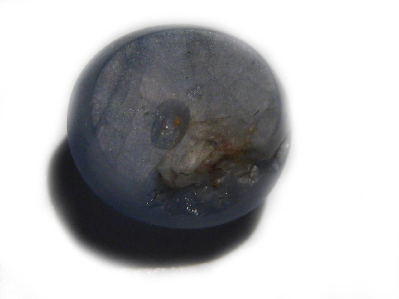 Burma Blue Star Sapphire 6.75 carats 9.9x9.1x7.3mm