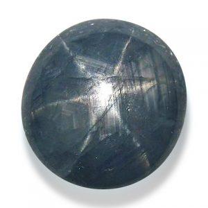 Burma Blue Star Sapphire - 7.28 Cts - 10.8x10.2x5.8mm