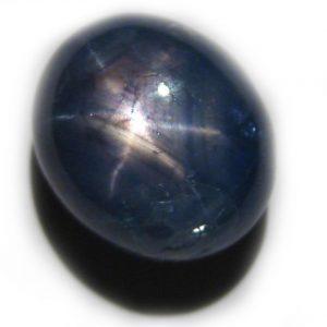 Oval Blue Star Sapphire 8.03 carats 10.7x9.1x7mm