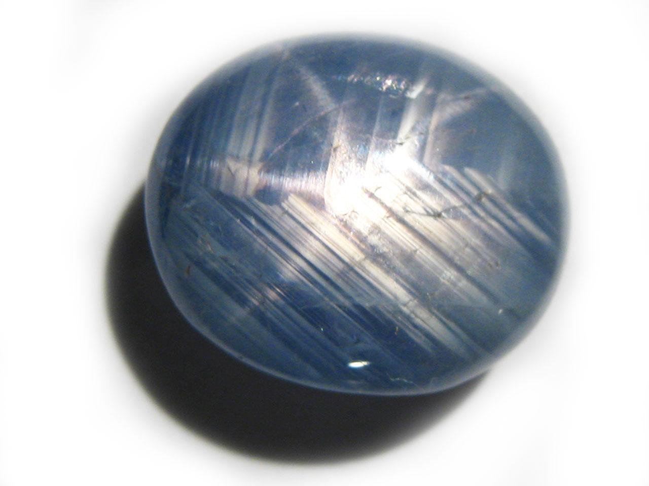 Burma Blue Star Sapphire - 8.81 cts - 11.5x9.7x6.8mm