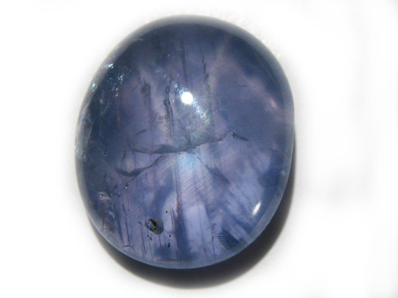 Burma Blue Star Sapphire - 9.68 cts - 14x11.7x5mm