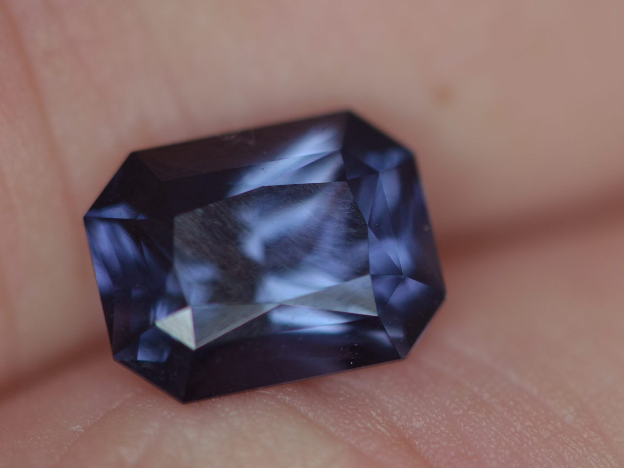Ceylon Blue Spinel 2.14 carats 8.4x6.5x5mm
