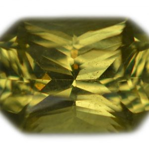 Ceylon Emerald Radiant Cut Chrysoberyl 1.16 carats 7.3x5.4x3.8mm