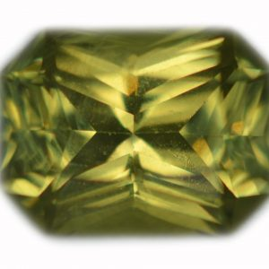 Ceylon Emerald Radiant Cut Chrysoberyl 1.83 carats 8x6x4.2mm