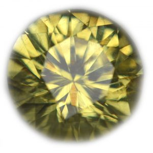 Ceylon Green Round Brilliant Chrysoberyl - 2.83 cts - 8.8x8.8x5.8mm