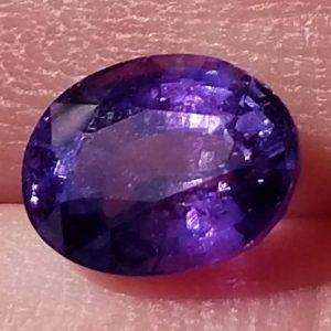 Ceylon Purple Oval Cut Sapphire - 2.15 cts - 7.9x6.3mm