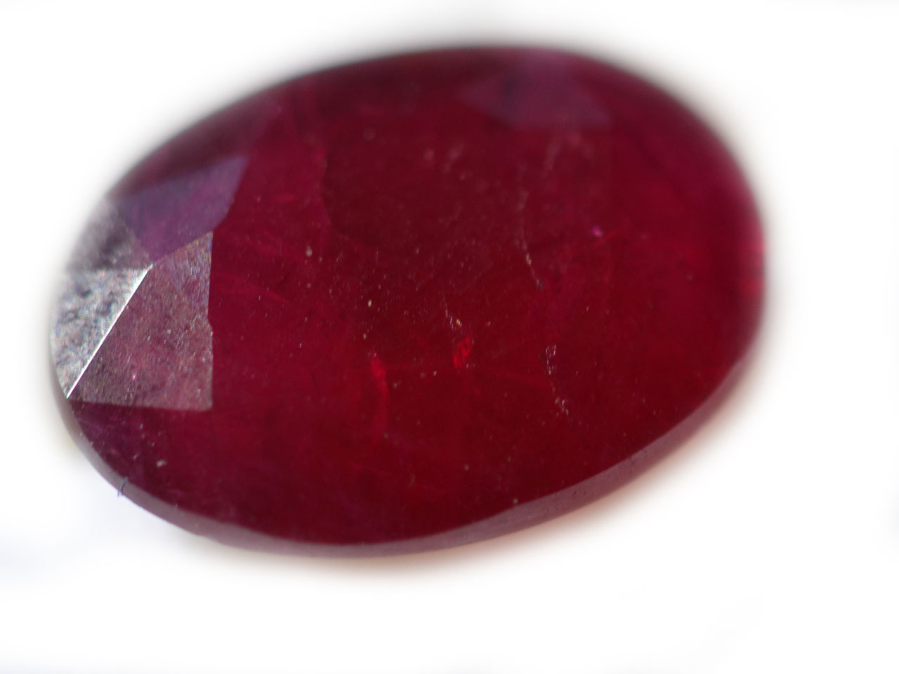 GIA Certified Unheated Indian Ruby Oval 2.36 carats 10.4x7.5x3mm