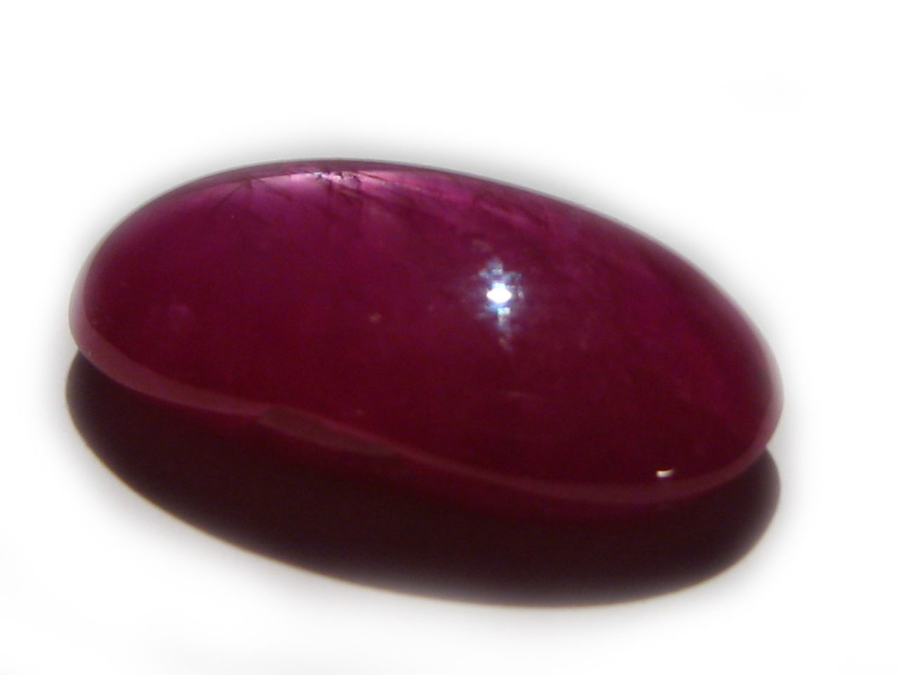 AGTA Certified Burma Star Ruby 10.24carat  17.1x9.2x5.9mm