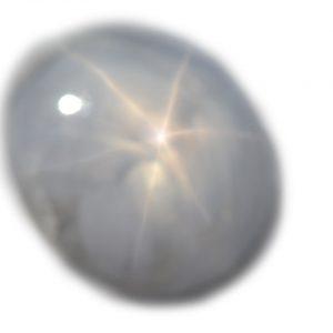 Burma Silver Star Sapphire - 11.07 Cts - 13.6x12.1x6.9mm
