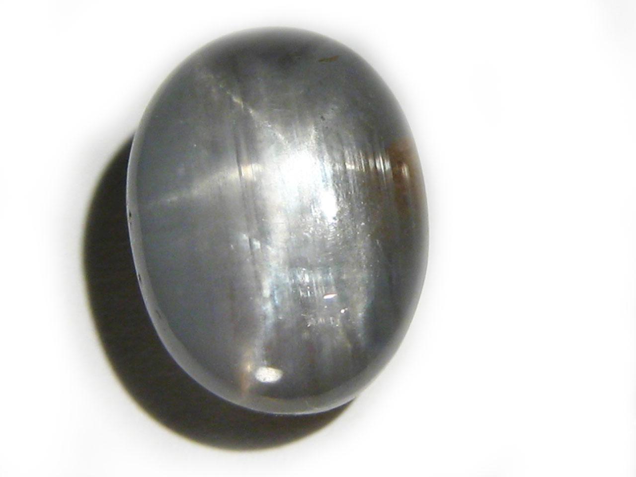 Burma Silver Star Sapphire - 12.7 Cts - 13.5x9.6mm