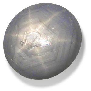 Burma Silver Star Sapphire - 3.29 carats 7.6x6.4x6mm