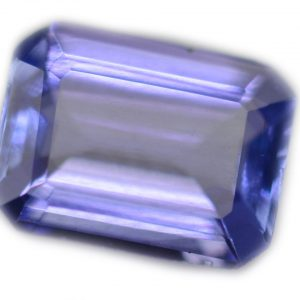 Emerald Cut Tanzanite blueviolet - emerald - 9.1x6.9mm - 2.05carats
