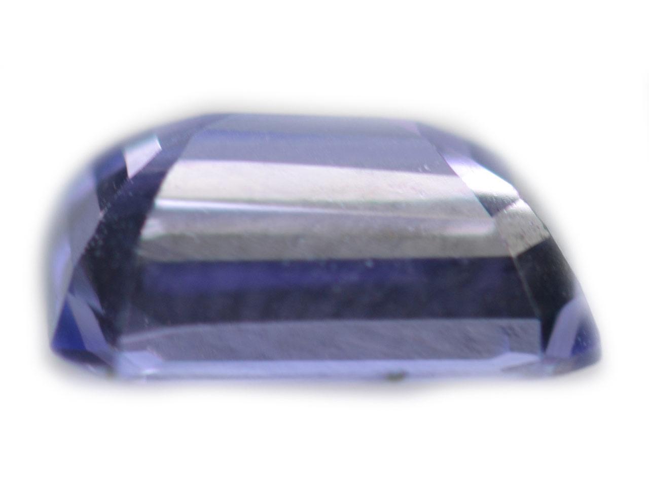 Emerald Cut Tanzanite blueviolet - emerald - 9.1x6.9mm - 2.05carats