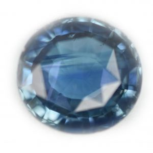 RGL Certified Teal Blue Oval Sapphire 3.77 Carats 10.0x9.3x4.6mm