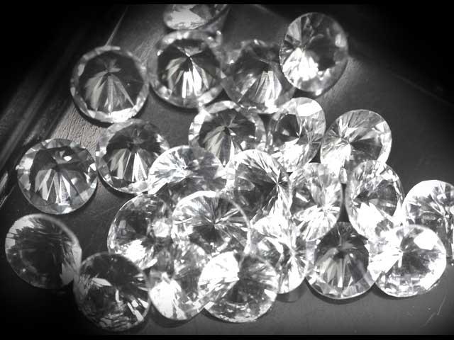 Ceylon White Round Brilliant Sapphire - 4mm - ~.25cts