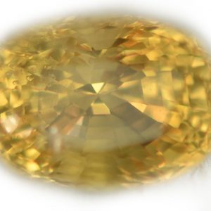 AGTA Certified Untreated Ceylon Mixed Oval Cut Yellow Sapphire - 3.24 cts - 8.7x6.3x6.8mm -